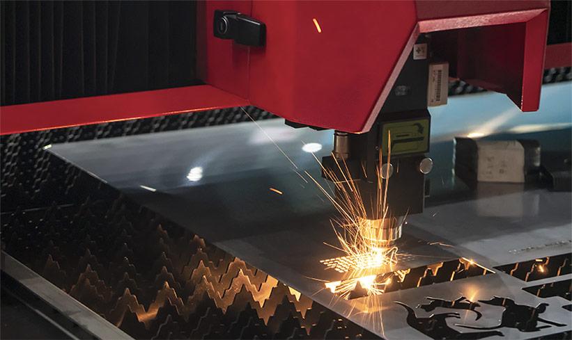 Reflektierende Metalle Laserschneiden